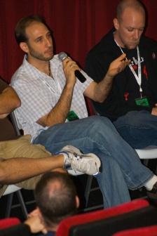 Filmmaker's panel at the Melbourne Independent Film Festival