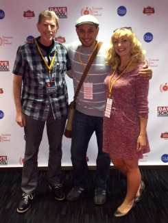 Daniel Wachs, Fred Zara and Jamie-Lyn Markos at the Orlando Film Festival