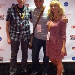 Daniel Wachs, Fred Zara and Jamie-Lyn Markos at the Orlando Film Festival